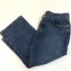 Lucky Brand Women Jeans Classic Fit Crop 10/30